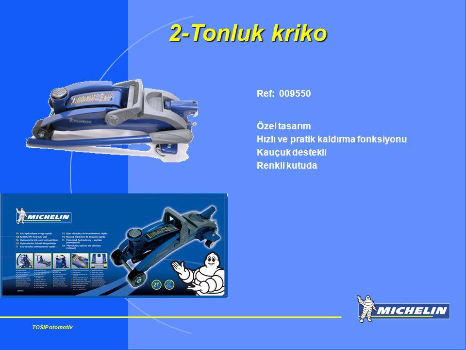 2-Tonluk kriko Ref: 009550 Özel tasarım