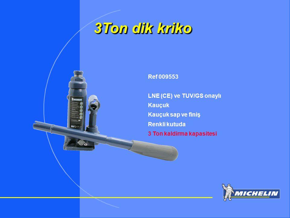 3Ton dik kriko Ref 009553 LNE (CE) ve TUV/GS onaylı Kauçuk