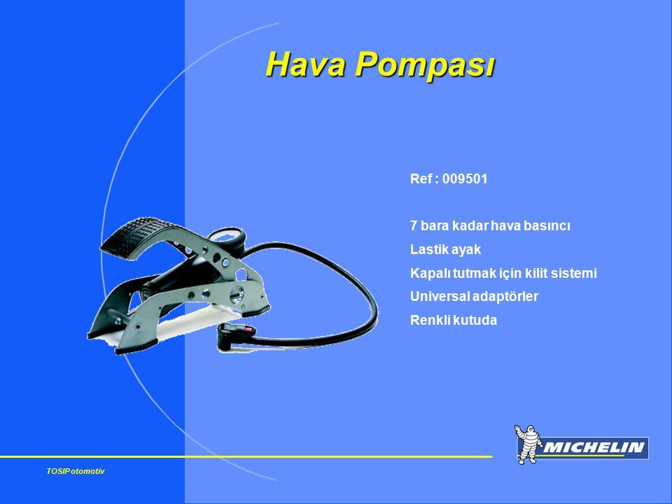 Hava Pompası Ref : 009501 7 bara kadar hava basıncı Lastik ayak