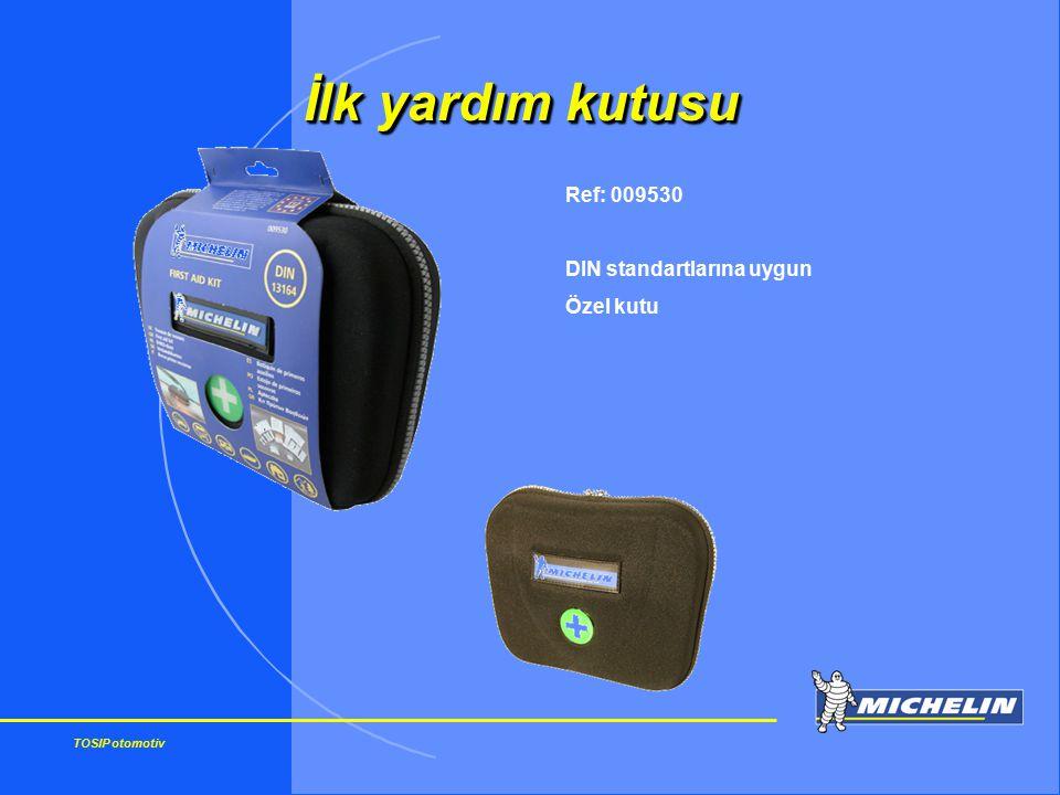 İlk yardım kutusu Ref: 009530 DIN standartlarına uygun Özel kutu