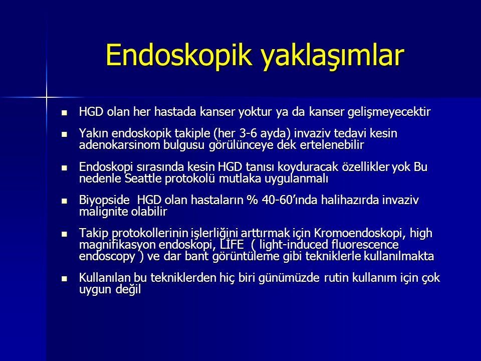 Endoskopik yaklaşımlar