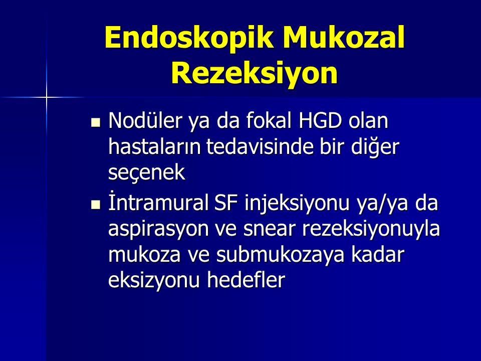 Endoskopik Mukozal Rezeksiyon