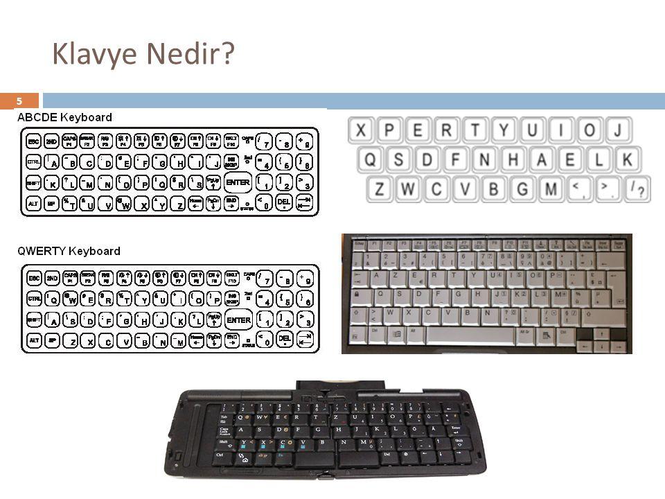 Klavye Nedir