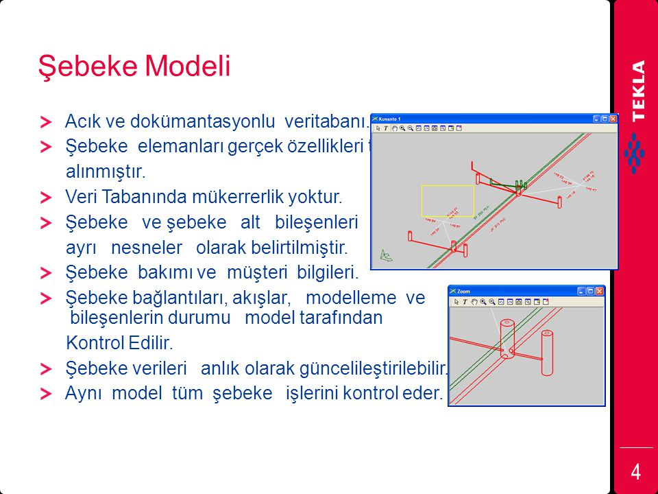 Şebeke Modeli Acık ve dokümantasyonlu veritabanı.