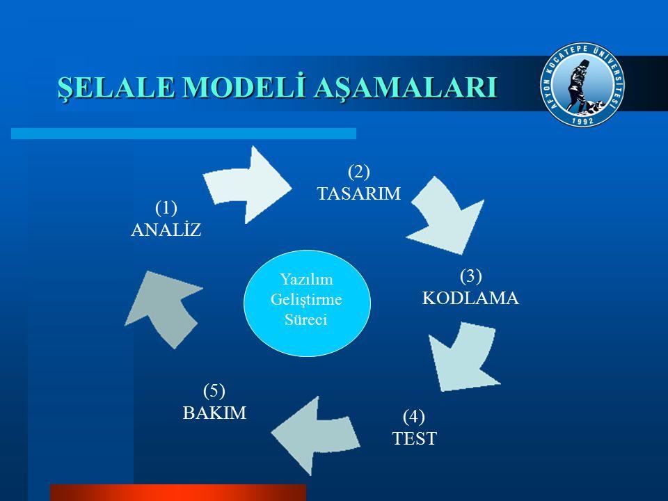 ŞELALE MODELİ AŞAMALARI