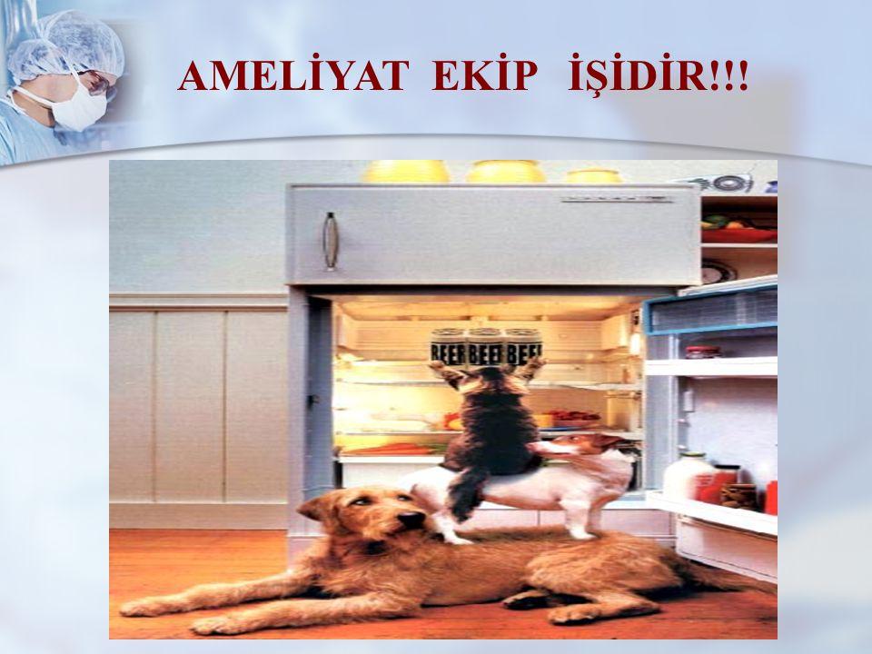 AMELİYAT EKİP İŞİDİR!!!