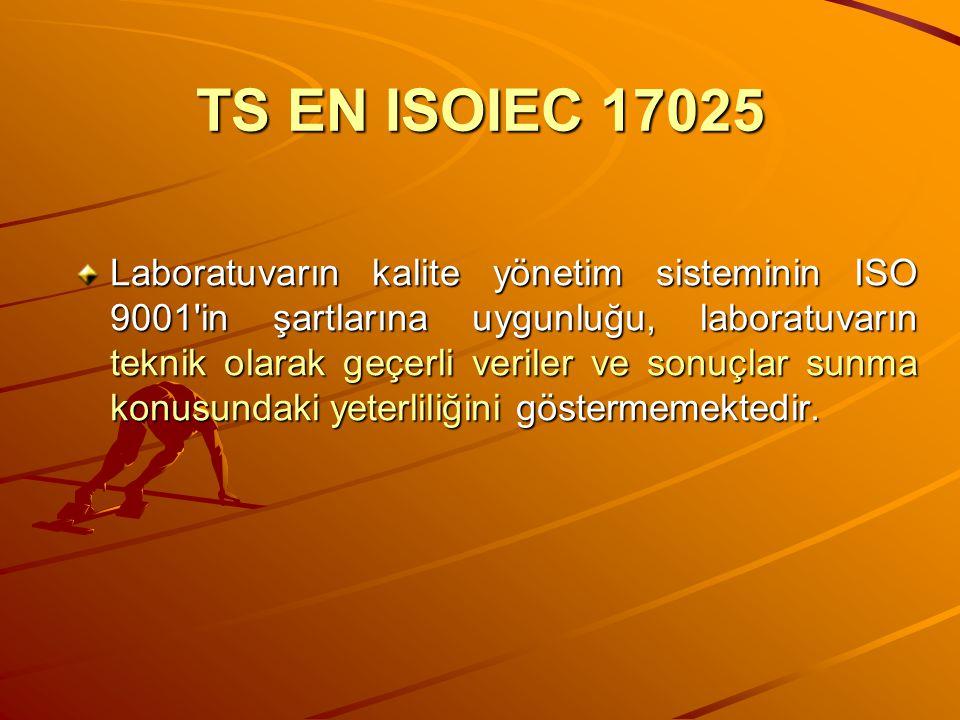 TS EN ISOIEC 17025