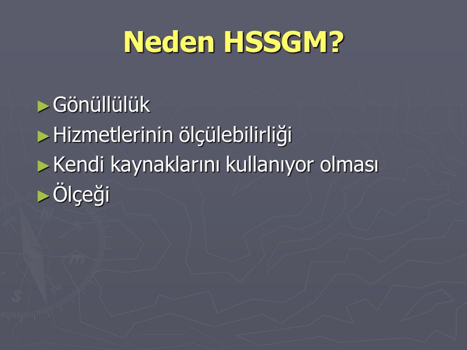 Neden HSSGM Gönüllülük Hizmetlerinin ölçülebilirliği