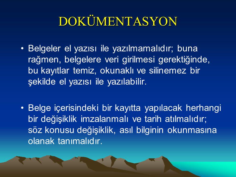 DOKÜMENTASYON