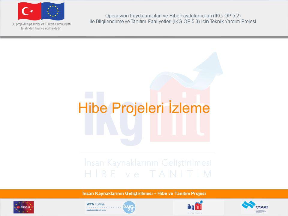 Hibe Projeleri İzleme