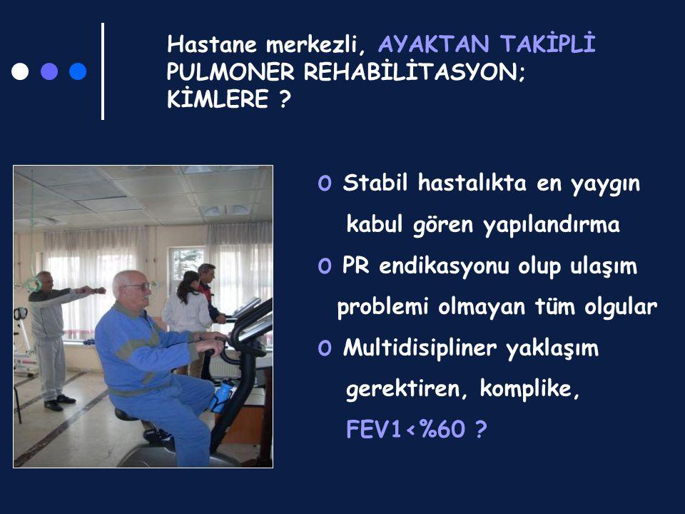 Hastane merkezli, AYAKTAN TAKİPLİ PULMONER REHABİLİTASYON; KİMLERE