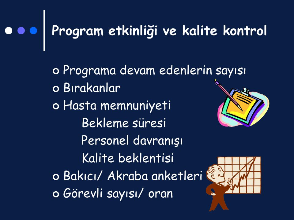Program etkinliği ve kalite kontrol