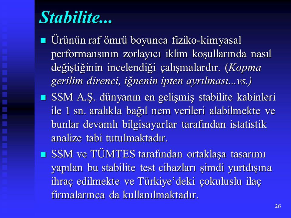 Stabilite...