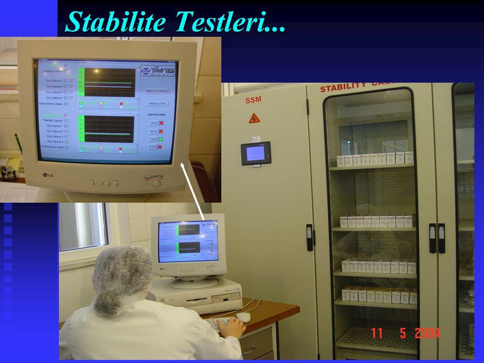 Stabilite Testleri...