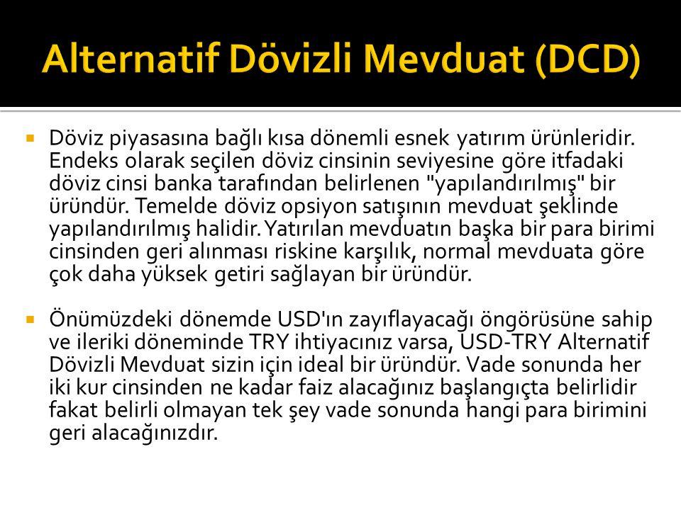 Alternatif Dövizli Mevduat (DCD)