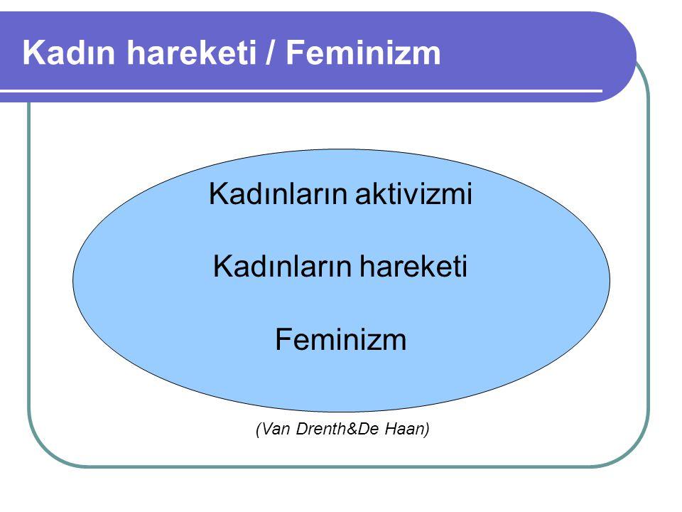 Kadın hareketi / Feminizm