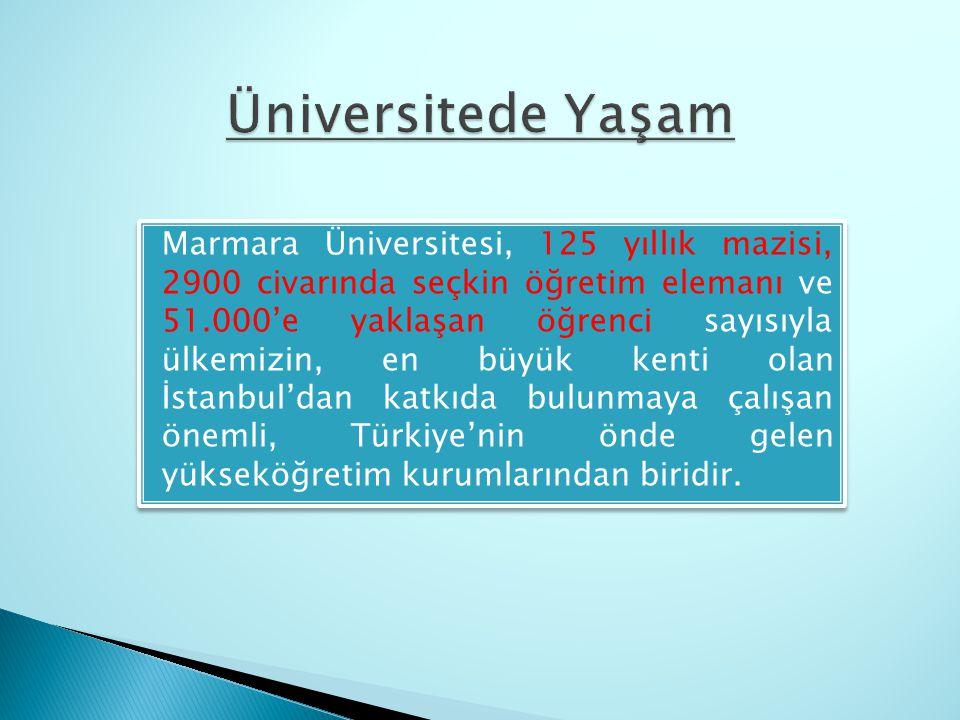 Üniversitede Yaşam