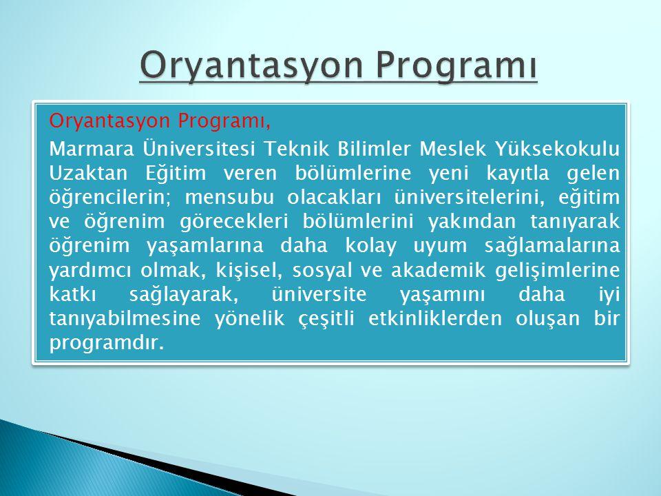 Oryantasyon Programı