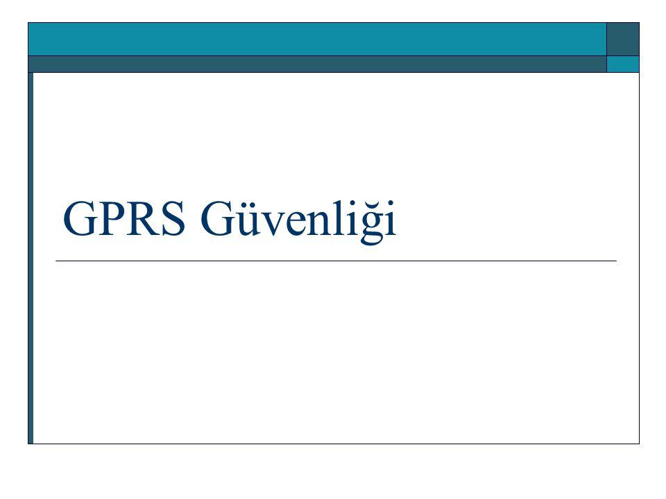 GPRS Güvenliği