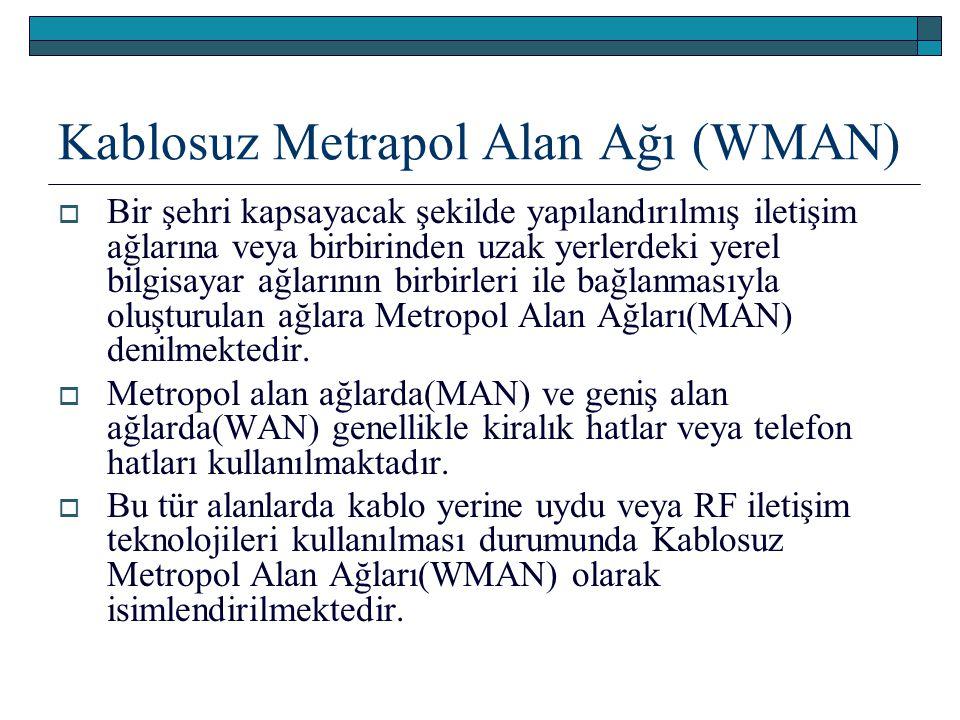 Kablosuz Metrapol Alan Ağı (WMAN)