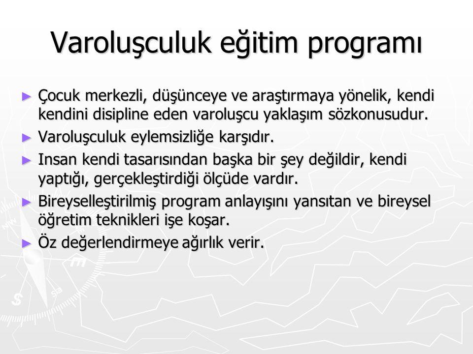 Varoluşculuk eğitim programı