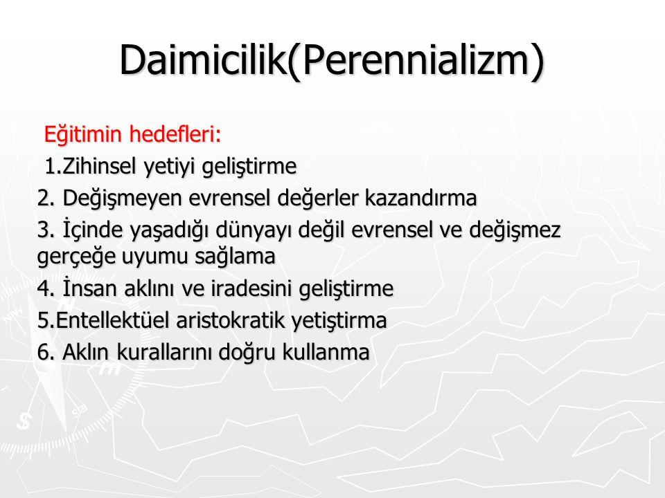 Daimicilik(Perennializm)