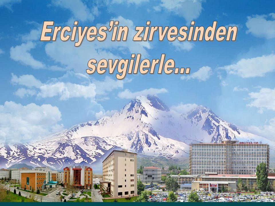 Erciyes'in zirvesinden