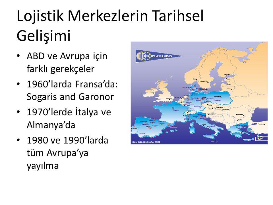 Lojistik Merkezlerin Tarihsel Gelişimi