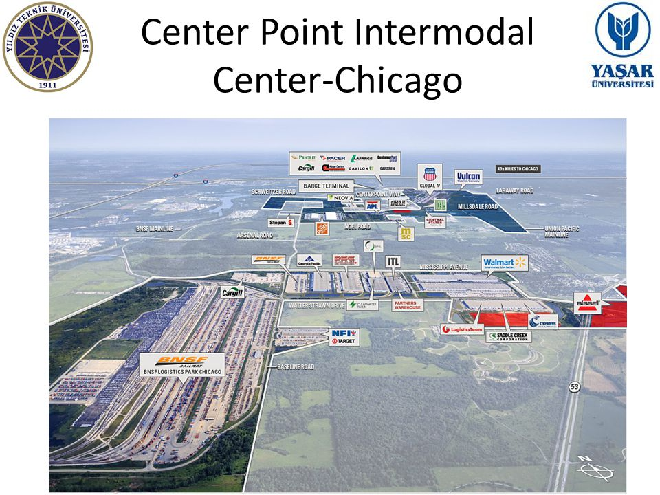 Center Point Intermodal Center-Chicago