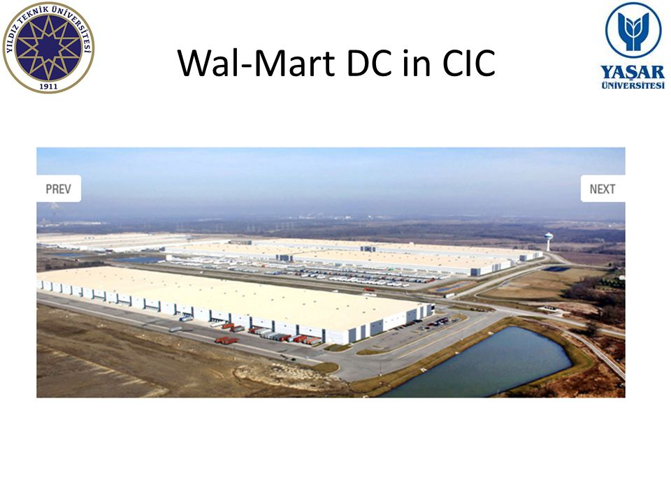 Wal-Mart DC in CIC