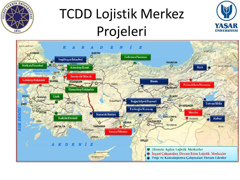 TCDD Lojistik Merkez Projeleri