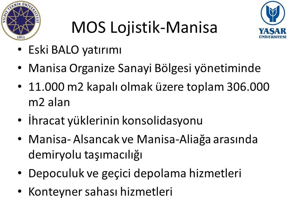 MOS Lojistik-Manisa Eski BALO yatırımı