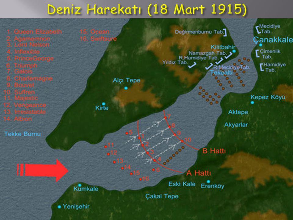 Deniz Harekatı (18 Mart 1915)