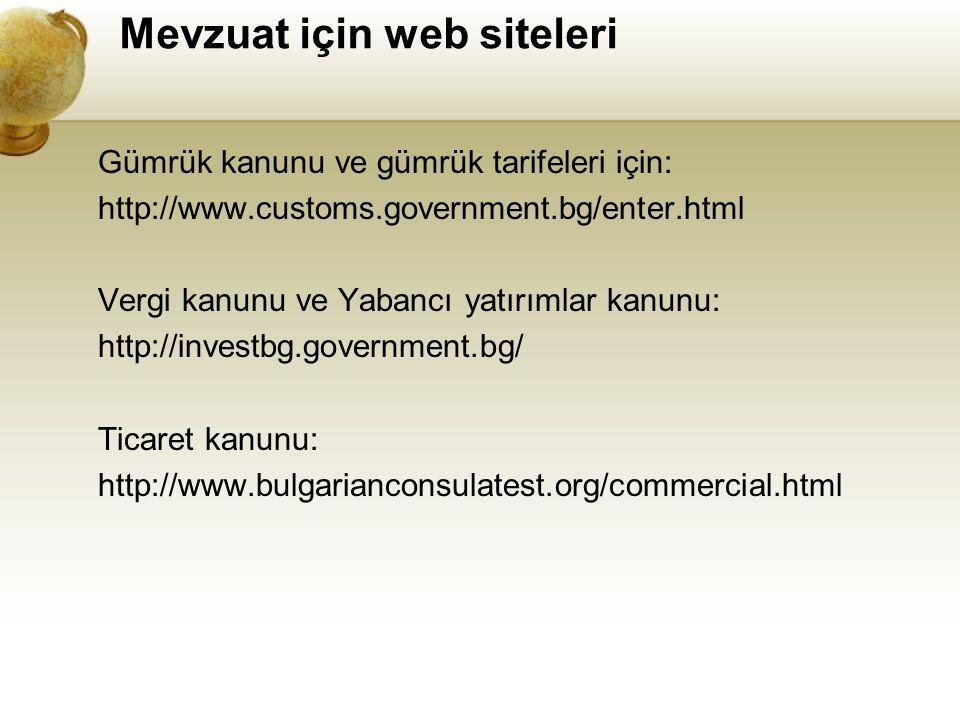 Mevzuat için web siteleri
