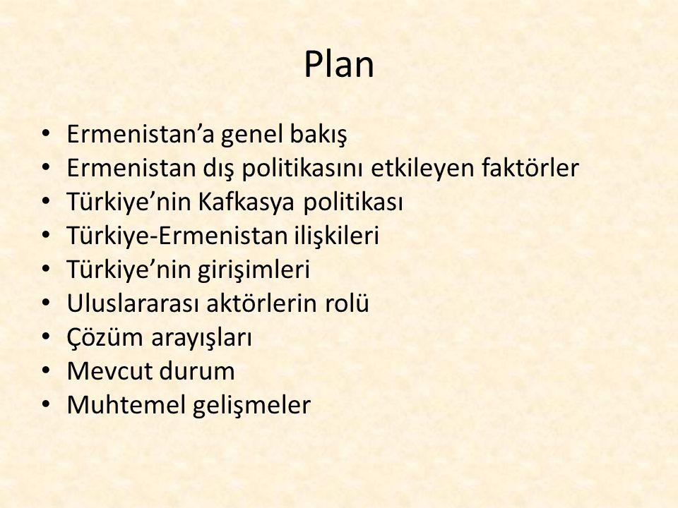 Plan Ermenistan'a genel bakış