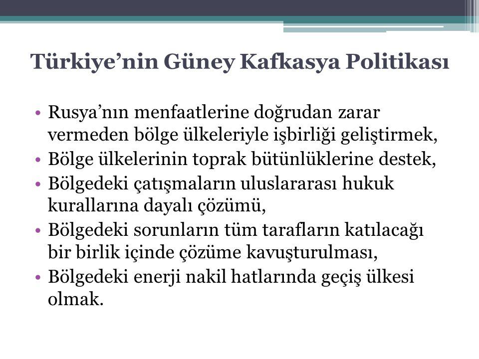 Türkiye'nin Güney Kafkasya Politikası