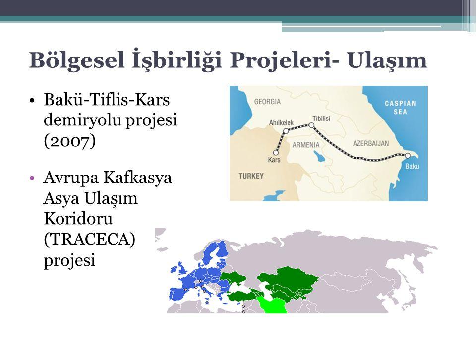 Bölgesel İşbirliği Projeleri- Ulaşım