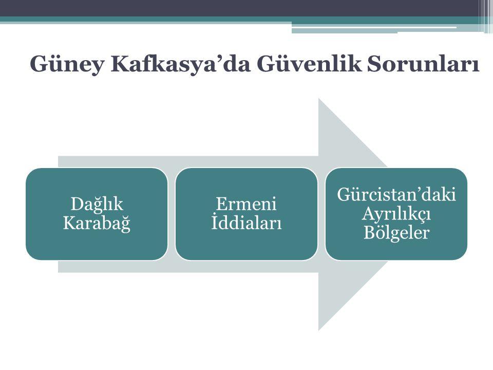 Güney Kafkasya'da Güvenlik Sorunları