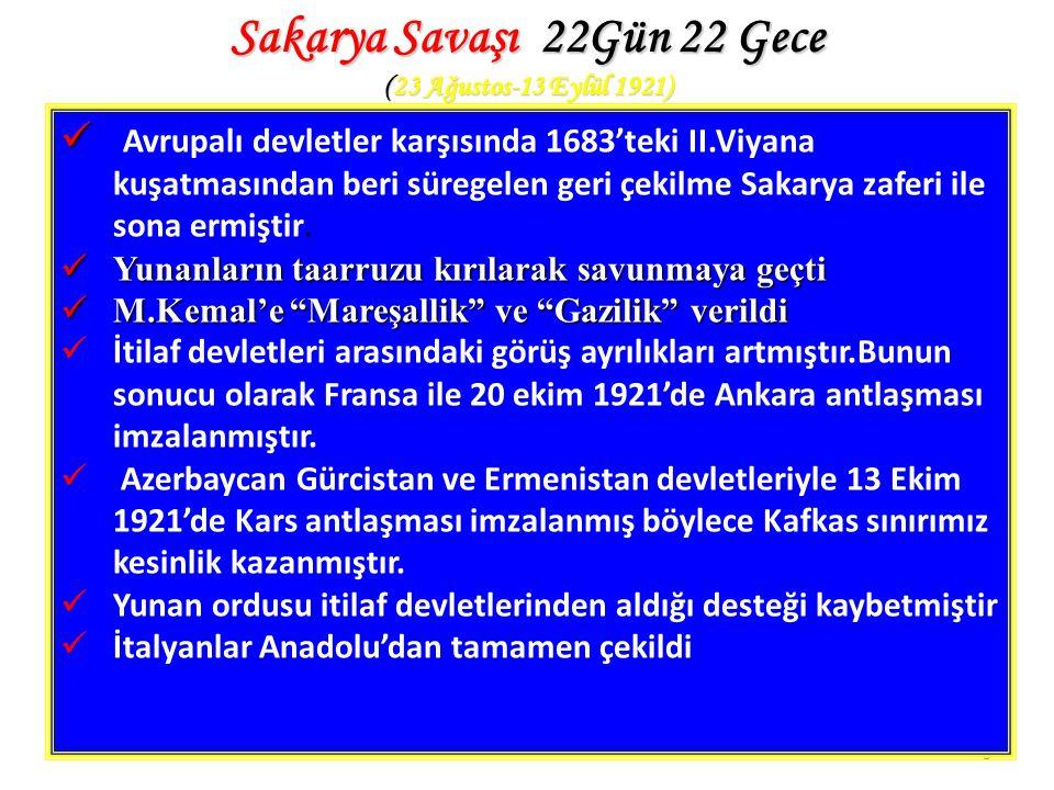 Sakarya Savaşı 22Gün 22 Gece