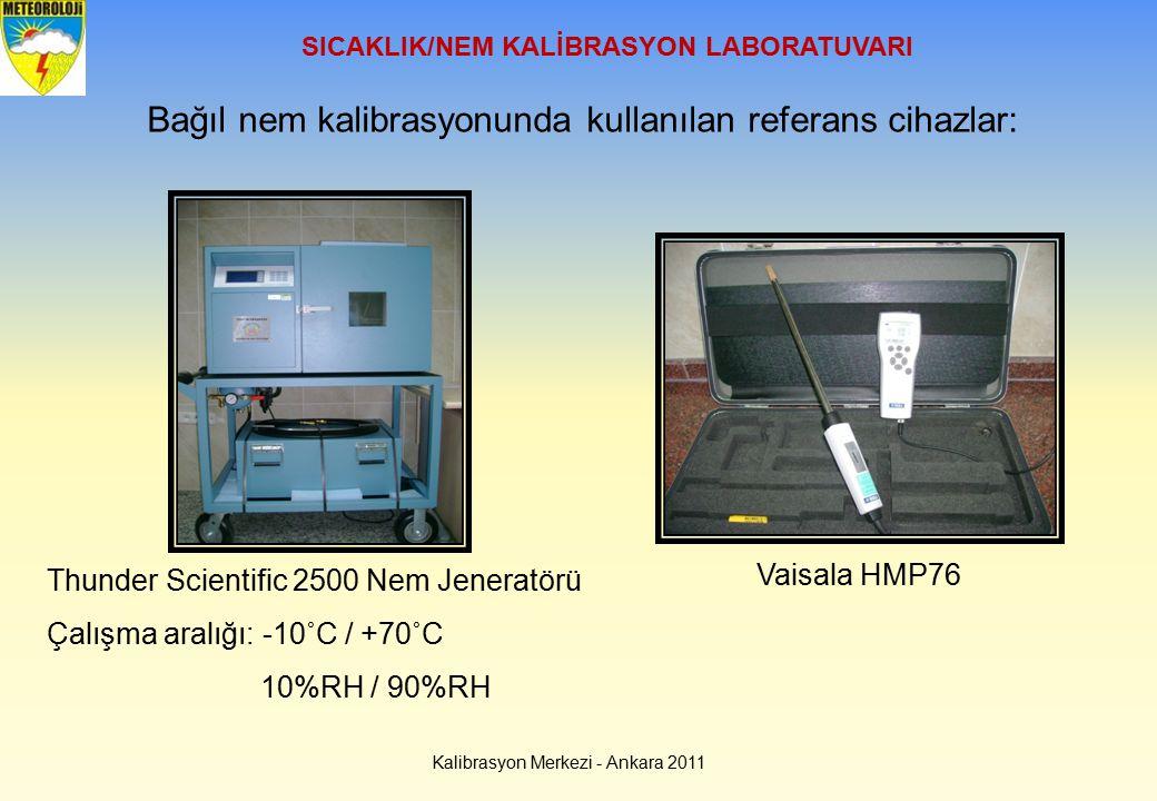 SICAKLIK/NEM KALİBRASYON LABORATUVARI