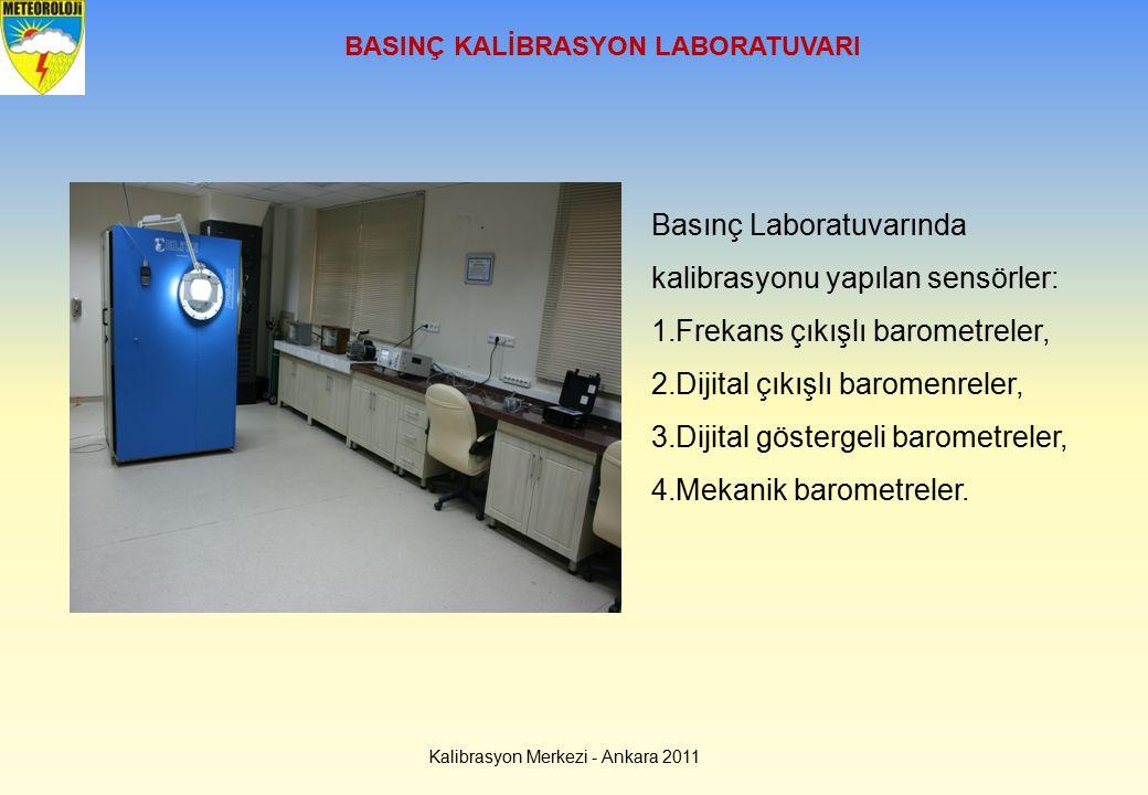 BASINÇ KALİBRASYON LABORATUVARI