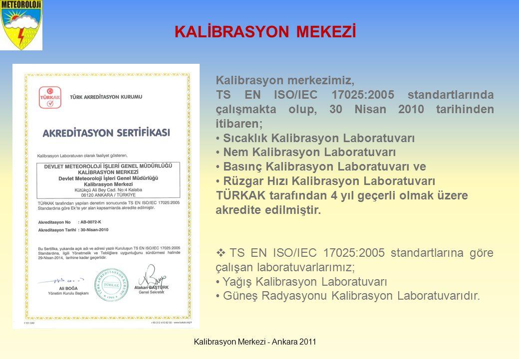 Kalibrasyon Merkezi - Ankara 2011