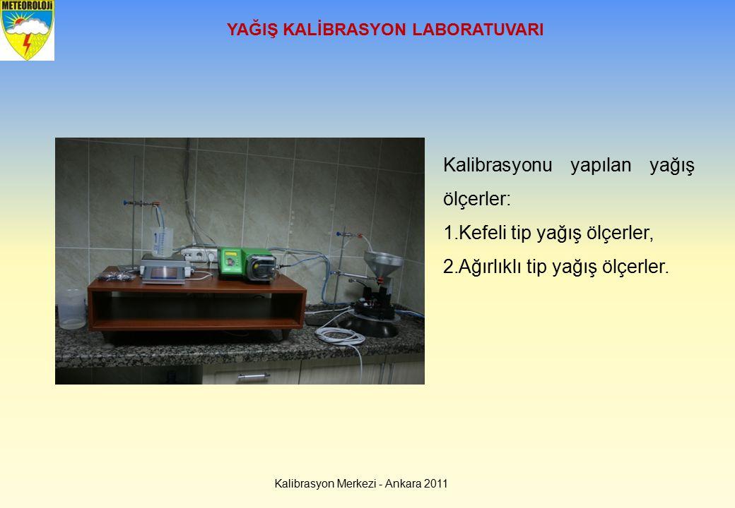 YAĞIŞ KALİBRASYON LABORATUVARI