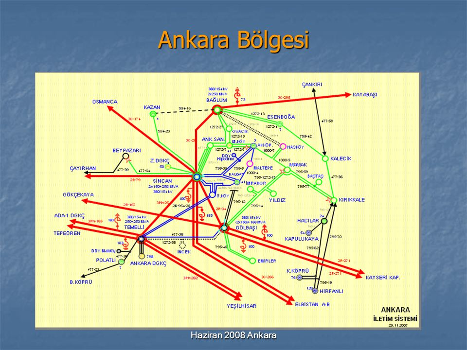 Ankara Bölgesi Haziran 2008 Ankara