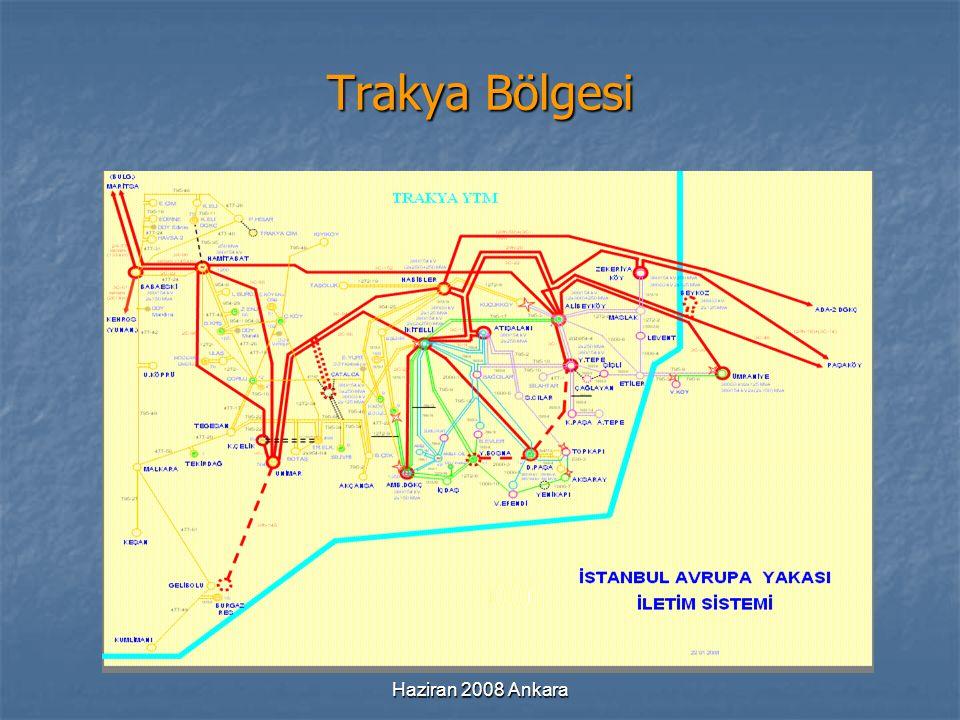 Trakya Bölgesi Haziran 2008 Ankara