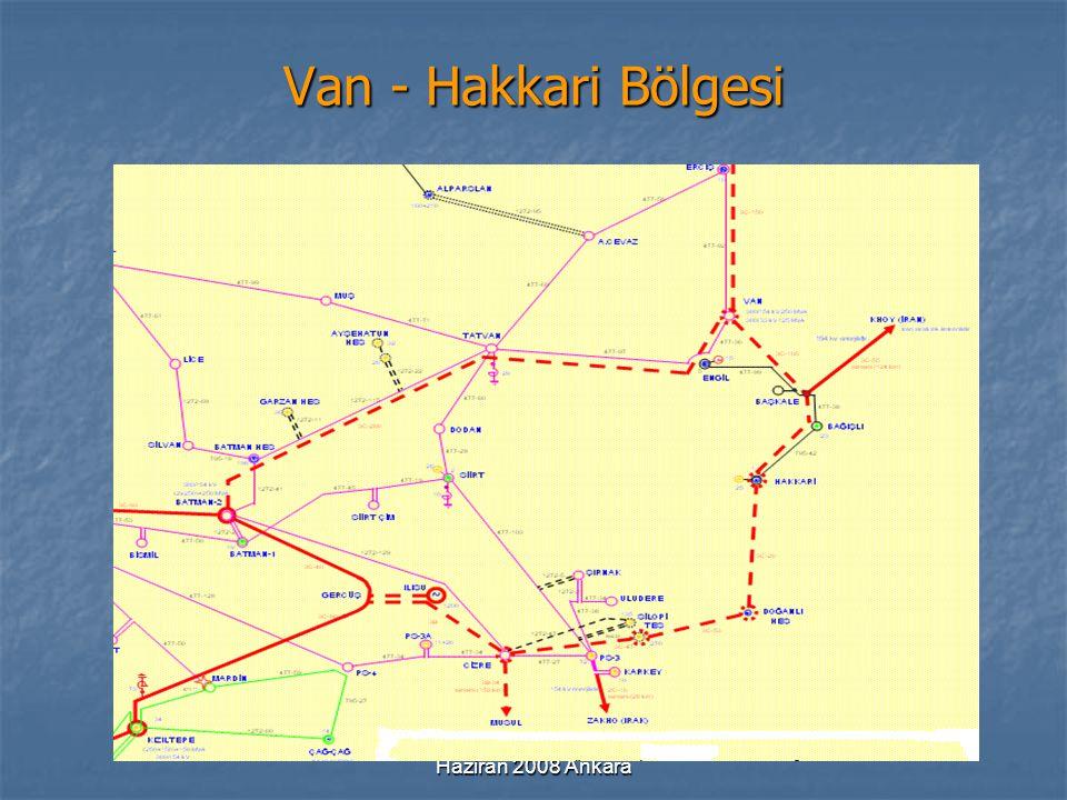 Van - Hakkari Bölgesi Haziran 2008 Ankara