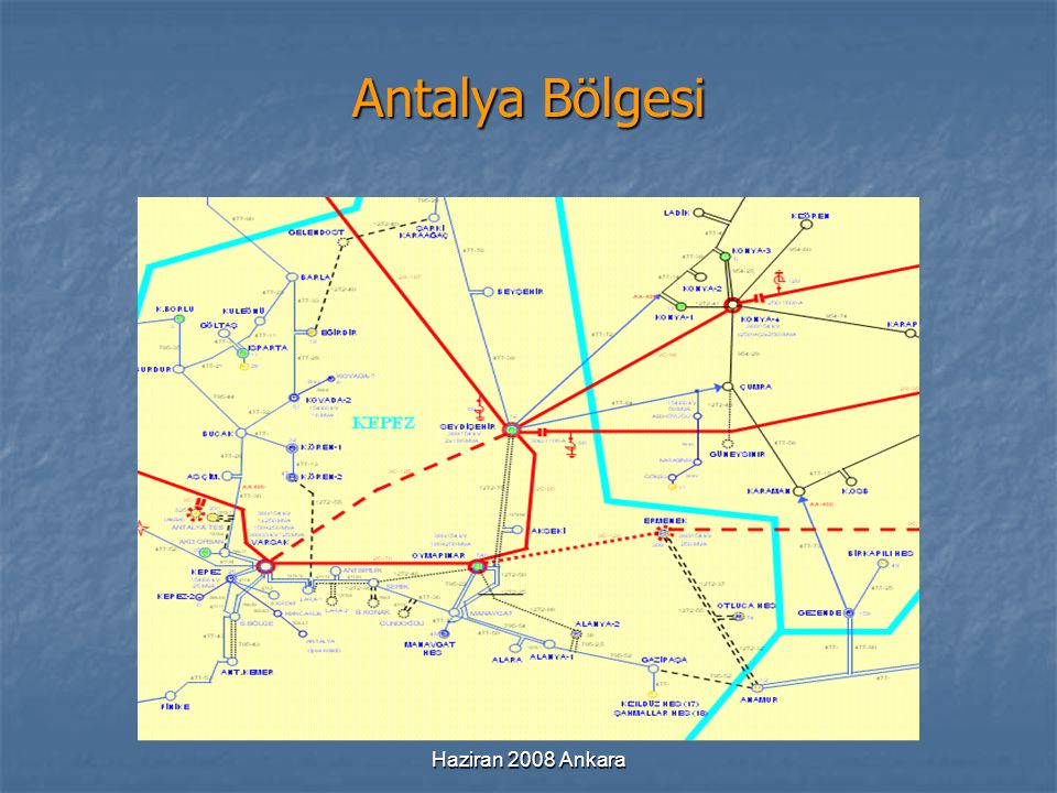 Antalya Bölgesi Haziran 2008 Ankara