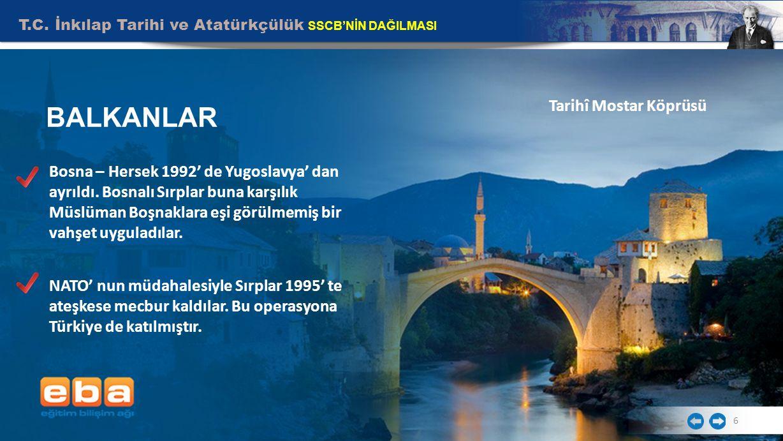 BALKANLAR Tarihî Mostar Köprüsü