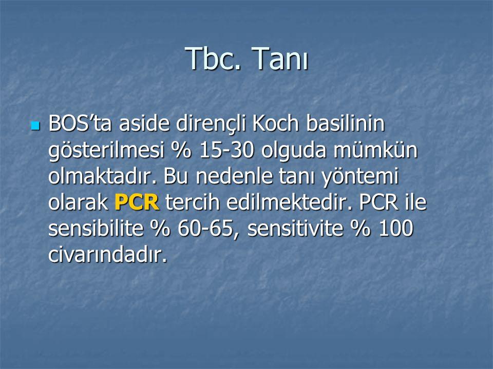 Tbc. Tanı