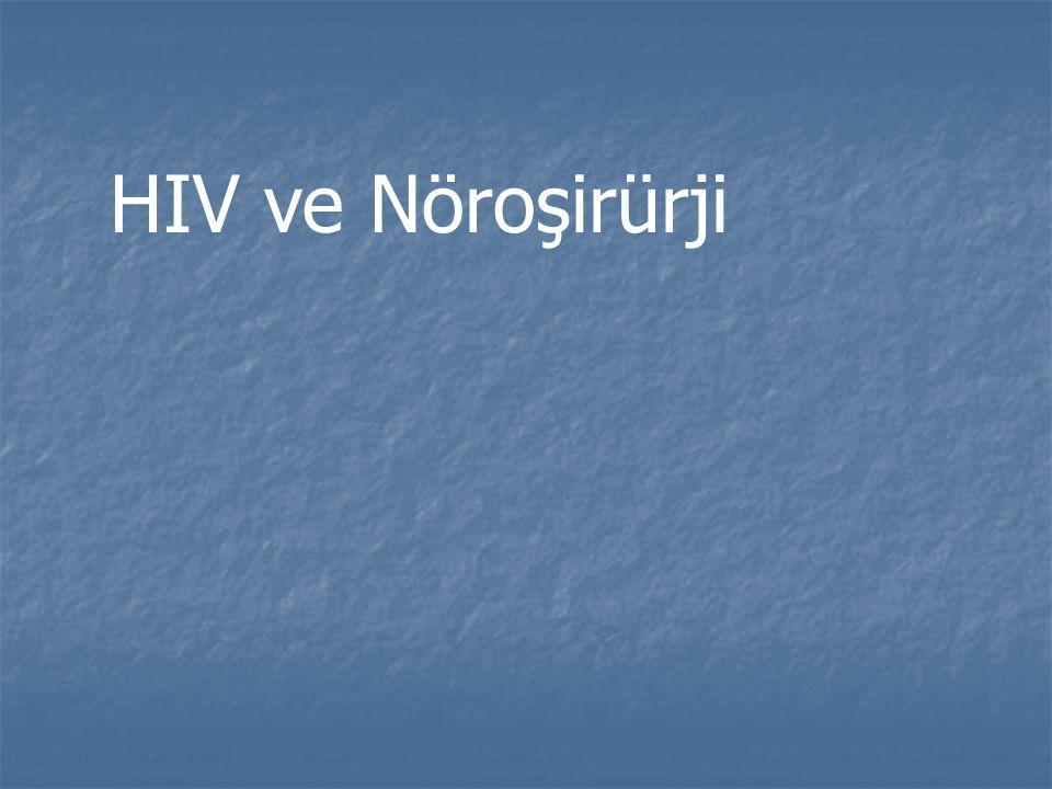 HIV ve Nöroşirürji